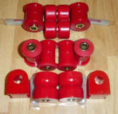 MKI MR2 Prothane Urethane Bushings - Total Kit